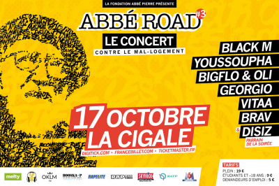 Concert Abbé Road 2016 à La Cigale de Paris