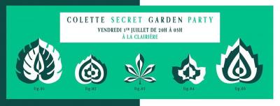 Colette Secret Garden Party à La Clairière
