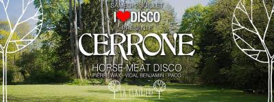I Love Disco présente Cerrone & Horse Meat Disco à La Clairière