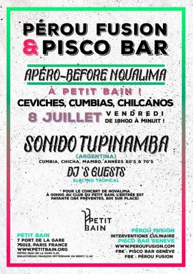 Pérou Fusion & Pisco Bar de retour à Petit Bain