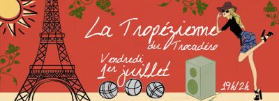 La Tropézienne du Trocadéro, saison 2016