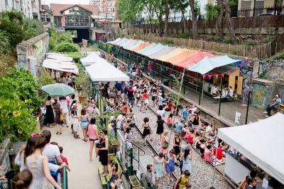 Festival Clignancourt Danse sur les Rails 2016 aux Jardins du Ruisseau