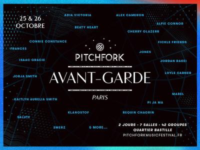 Pitchfork Avant-Garde 2016 à Paris