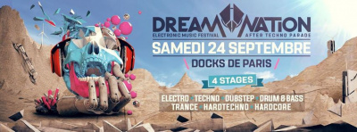 Dream Nation Festival aux Docks de Paris : After Techno Parade 2016