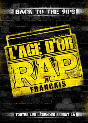 L'âge d'or du rap français à l'Arena Bercy de Paris en 2017