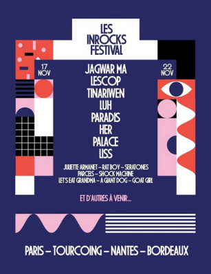 Festival Les Inrocks 2016 à Paris  : dates, programmation et réservations