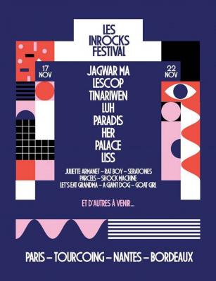 Festival Les Inrocks 2016 à Paris  : dates, programmation et réservations