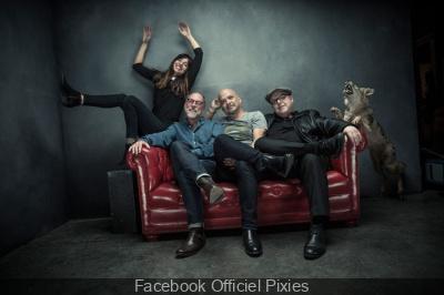 Pixies en concert au Zénith de Paris en novembre 2016