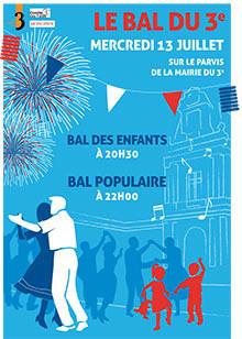 Le Bal Populaire 2016 de la Mairie du 3e