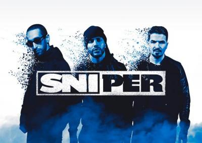 Sniper en concert au Zénith de Paris en novembre 2016