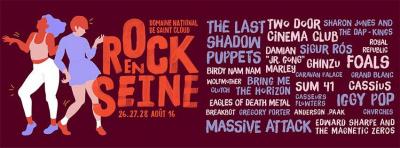 Festival Rock En Seine 2016 à Saint Cloud : dates, programmation et réservations