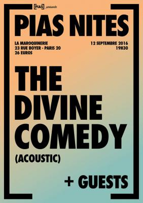 [PIAS] NITES : The Divine Comedy en concert à La Maroquinerie de Paris