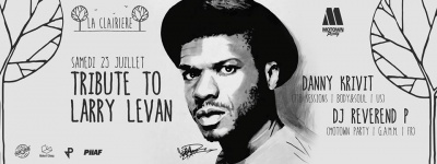 Tribute To Larry Levan à La Clairière