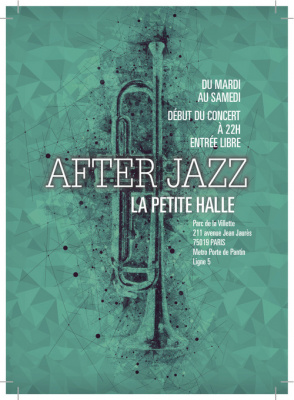 After Party du Festival Jazz à La Villette 2016 à La Petite Halle