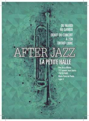 After Party du Festival Jazz à La Villette 2016 à La Petite Halle