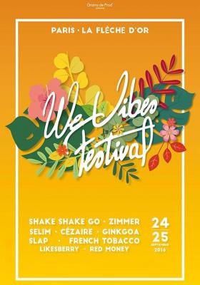 WEVIBES Festival 2016 à La Flèche d'Or