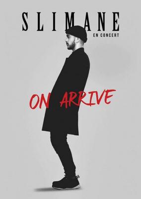 Slimane en concert à La Cigale de Paris en 2017
