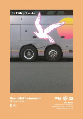 SNTWN présente Beautiful Swimmers & D.K. à La Machine