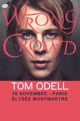 Tom Odell en concert à l'Elysée Montmartre de Paris en novembre 2016