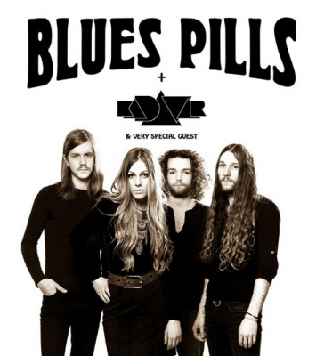 Blues Pills et Kadavar en concert au Trianon de Paris en octobre 2016