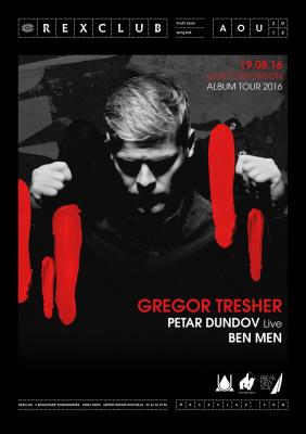 Gregor Tresher Quiet Distortion Album Tour 2016 au Rex Club