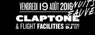 Claptone & Flight Facilities au club Nuits Fauves