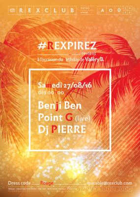 #Respirez c'est l'été au Rex Club