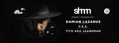 Zig Zag x Shmn avec Damian Lazarus