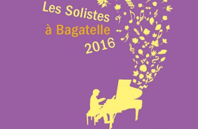 Les Solistes à Bagatelle 2016 : dates, programmation et réservations