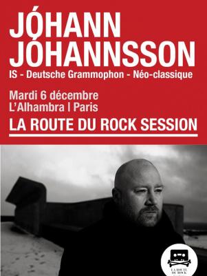 Jóhann Jóhannsson en concert à l'Alhambra de Paris