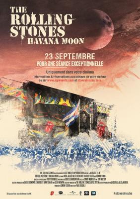 The Rolling Stones : Havana Moon – le concert évènement diffuse au Grand Rex de Paris