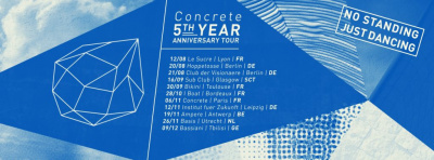 Concrete fête ses 5 ans à Paris