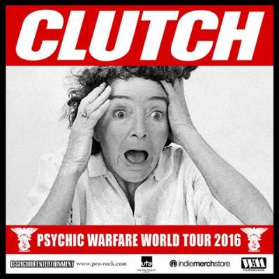 Clutch en concert au Trianon de Paris en décembre 2016