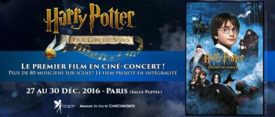 Harry Potter à l'école des Sorciers en ciné-concert à La Salle Pleyel de Paris