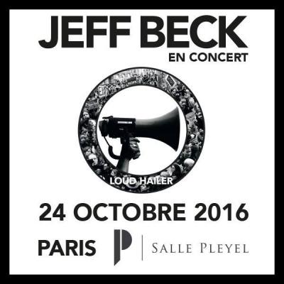 Jeff Beck en concert à La Salle Pleyel de Paris en octobre 2016