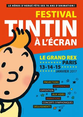 Festival Tintin à l'écran au Grand Rex de Paris en 2017