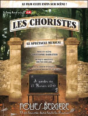 Les Choristes, le spectacle musical, aux Folies Bergère de Paris en 2017