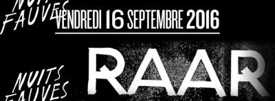 Raar Night au Club Nuits Fauves