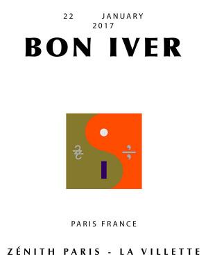 Bon Iver en concert au Zénith de Paris en 2017