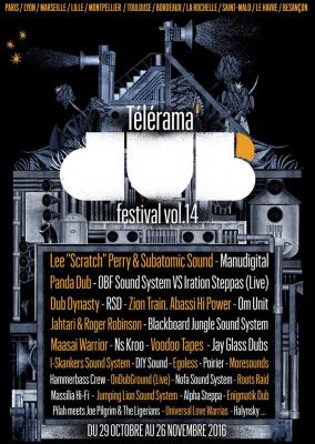 Télérama Dub Festival 2016 : programmation à Paris