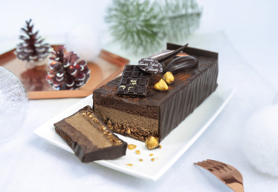 b che de no l 2016 by les chocolats yves thuri s. Black Bedroom Furniture Sets. Home Design Ideas