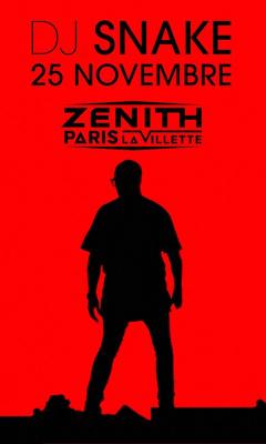 DJ Snake en concert au Zénith de Paris en novembre 2016