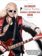 Michel Polnareff en concert à La Salle Pleyel de Paris en décembre 2016
