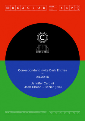 Correspondant invite Dark Entries au Rex Club