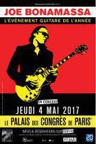 Joe Bonamassa en concert au Palais des Congrès de Paris en 2017