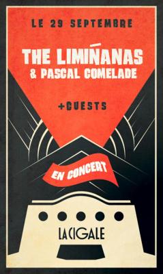 The Limiñanas & Pascal Comelade en concert à La Cigale de Paris