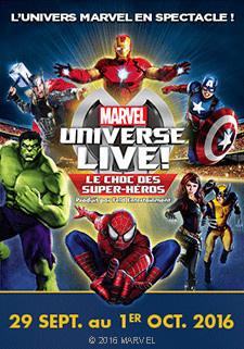 Marvel Universe Live à l'Arena de Paris Bercy