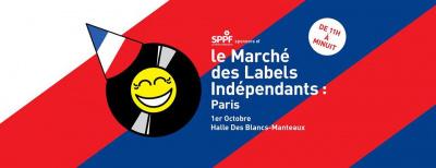 Le Marché des Labels Indépendants à La Halle des Blancs Manteaux à Paris