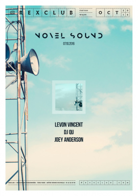 Novel Sound au Rex Club