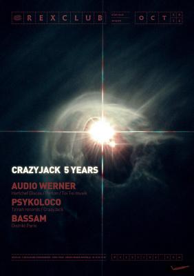 Crazyjack 5 years au Rex Club